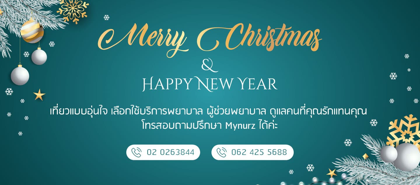 Mynurz Homecare Services : Merry Christmas 2019 banner